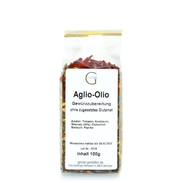 Aglio Olio Gewürz zum Selbermachen lecker
