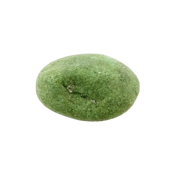 Erdnüsse im Wasabi-Teigmantel Detailaufnahme