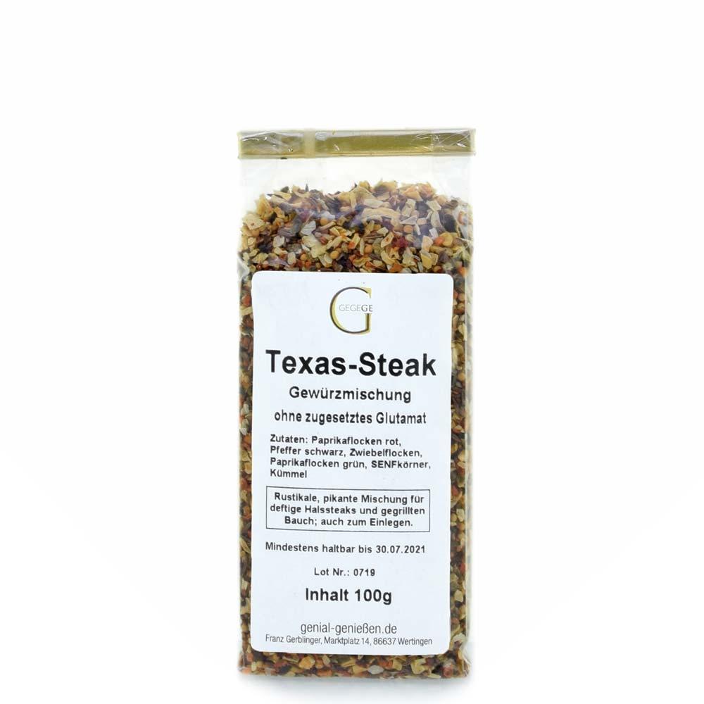 Texas-Steak Gewürz zum Würzen von leckeren Rumpsteaks