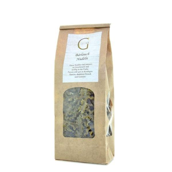 Genial Genießen Bärlauch Nudeln mit intensivem Bärlauchgeschmack, ideal für die Bärlauchsaison - kleine Ansicht