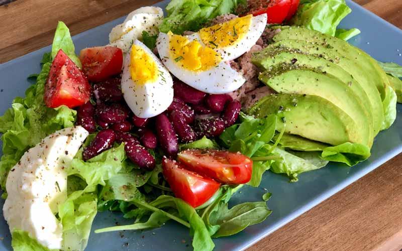 After-Workout Salat - Salatrezept
