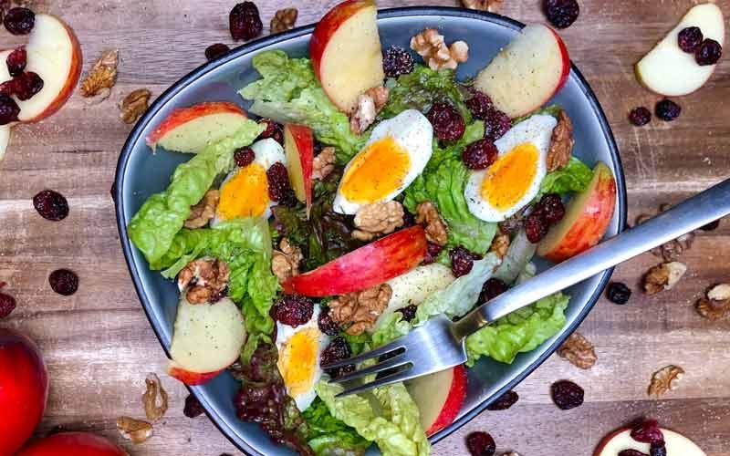 Cranberry-Apfel Salat - Salatrezept