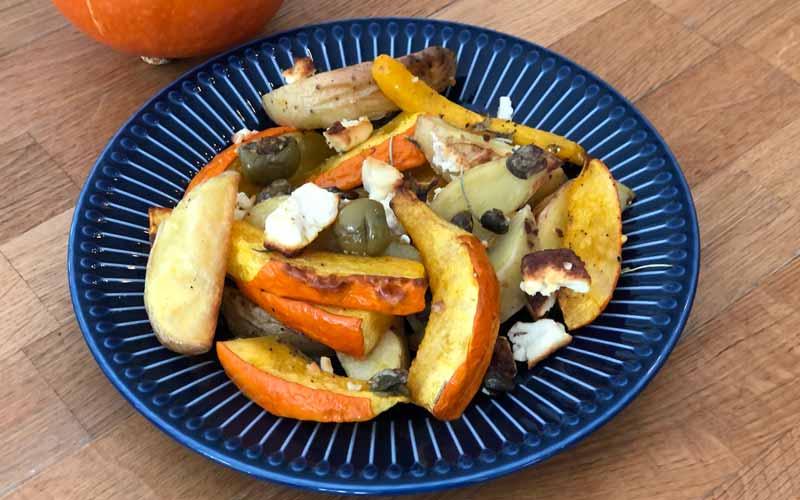 Kürbis-Kartoffel Wedges - Rezept