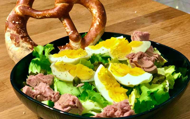 Thunfisch-Ei Salatrezept