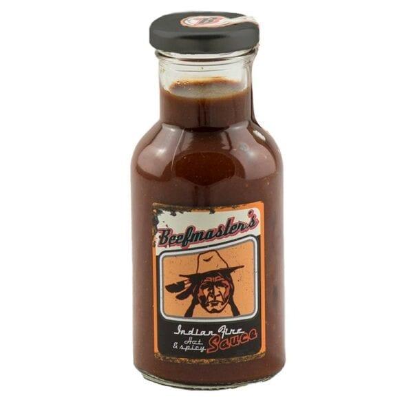 Gourmet Leon Grillsoße Beefmaster Indian Fire mit Hot & Spicy Geschmack - tolle Grillsoße - große Ansicht